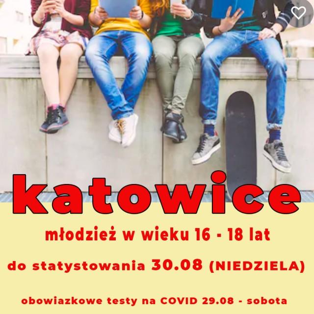 KATOWICE - MŁODZIEŻ 16 - 18 lat do statystowania w serialu